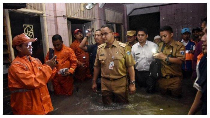 Soal Banjir Jakarta, Anies Baswedan Singgung Pendahulunya, Katanya Tak Separah Era Jokowi dan Ahok