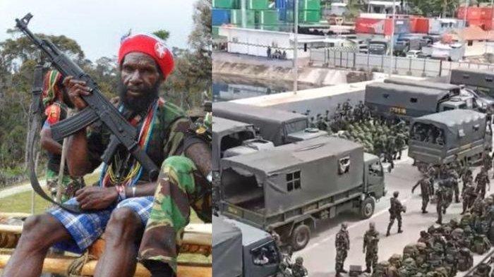Pasukan Surgawi KKB Papua Ladeni Kekuatan Pasukan Setan TNI, Terjadi Baku Tembak Papua Mencekam