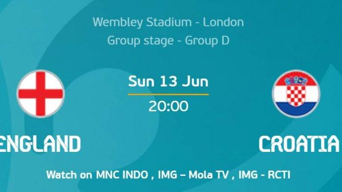 Preview EURO 2020 Kroasia Vs Inggris, The Three Lions Simpan Misi Balas Dendam