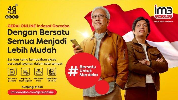 Berikan Berbagai Kemudahan untuk Pelanggan, Indosat Ooredoo Luncurkan Gerai Online, Ini Layanannya