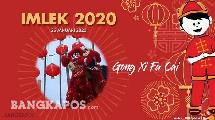 Ucapan Tahun Baru Imlek 2020 Gong Xi Fa Cai 2571 hingga Happy Chinese New Year