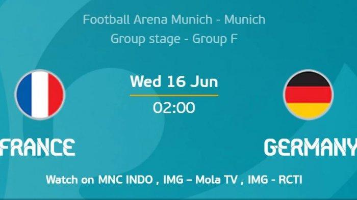 Preview EURO 2020, Prancis Vs Jerman, Adu Strategi Didier Deschamps dan Joachim Löw