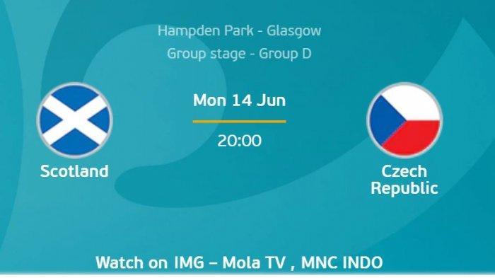 Euro 2020 (Euro 2021): Prediksi Skotlandia Vs Ceko, Ujian Buat Juara versi Komputer