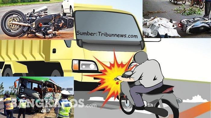 Tragis ! Pengedara Revo Terseret Truk , Tiga Korban Luka Serius, Satu Tewas