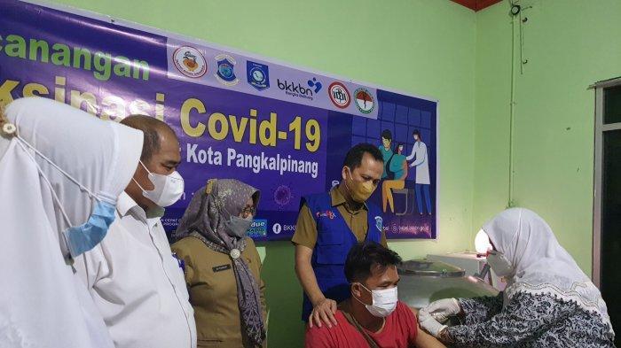 Vaksin Covid-19 Berbasis Keluarga, BKKBN Babel Targetkan Vaksinasi 61 Ribu Orang