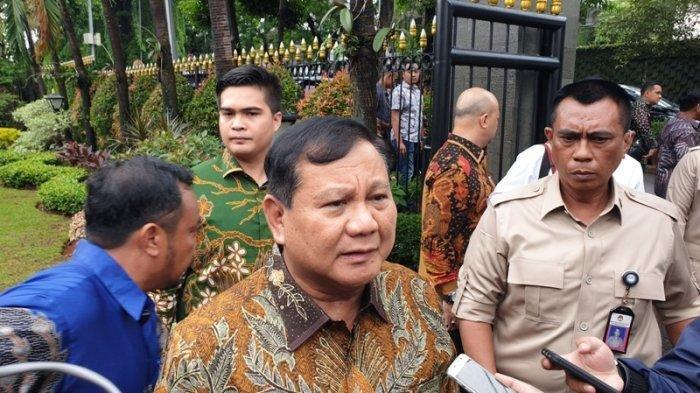 REAKSI Prabowo Subianto Dengar Omongan Jokowi Sandiaga Uno Bakal Jadi Penggantinya 2024