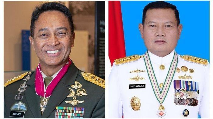 Calon Panglima TNI Mengerucut ke Dua Nama Ini, Siapa yang Lebih Berpeluang, Ini Profil Mereka