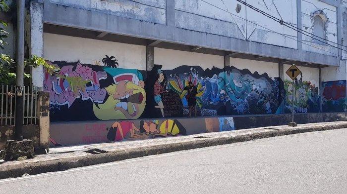 Mural Pria Bermasker Bertahan 1 Hari, Mabes Polri Serahkan Kasus ke Pemkot Pangkalpinang