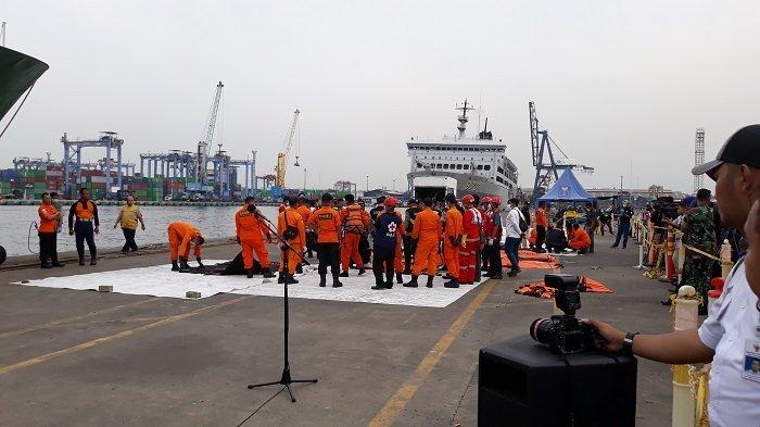 Terbaru, 164 Kantong Jenazah Korban Lion Air PK-LQP  Berhasil Dievakuasi Tim SAR Gabungan