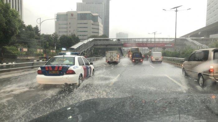 Pagi Ini Jakarta dan Sekitarnya Kembali Digenangi Banjir