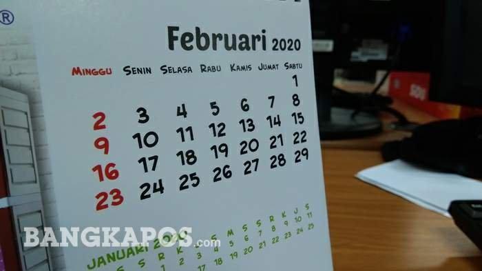 Daftar Libur dan Cuti Bersama Tambahan 4 Hari Tahun 2020