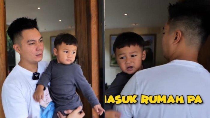 Reaksi Baim Wong Ketika Dipukul Kiano saat Akan Tinggalkan Rumah, Suami Paula Verhoeven Minta Ampun