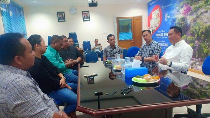 BPJ Kunjungi Bangka Pos,Bahas Soal Lada Hingga Kritik PT Timah