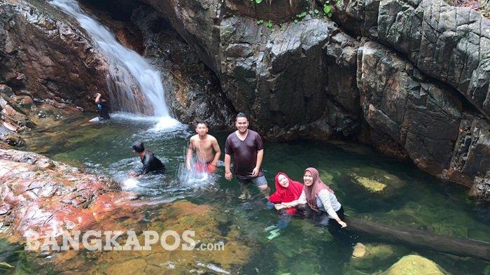 Lima Rekomendasi Wisata Alam Air Terjun di Pulau Bangka