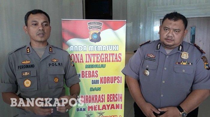 Polres Bangka Selatan Kerjasama dengan BPS Canangkan Zona Integritas WBK dan WBBM