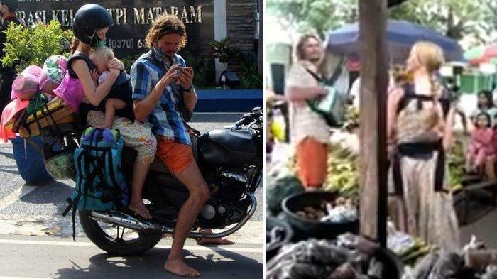 Video Viral Suami dan Istri Asal Rusia Ngamen Sambil Gendong Bayi Untuk Cari Makan