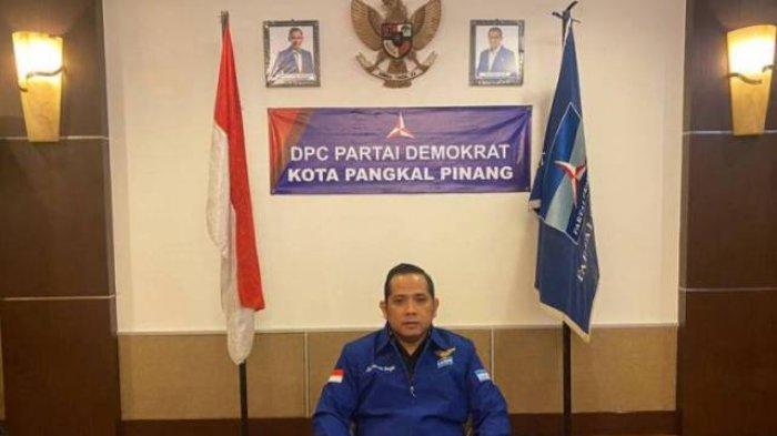 AHY Pecat Tujuh Kader Terlibat Kudeta, Ketua DPC Partai Demokrat Pangkalpinang Dukung Sikap Ketum