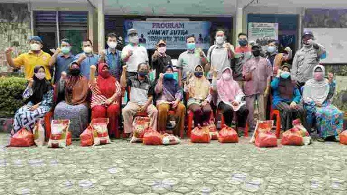 Mulkan Salurkan Bantuan Jumat Sutra, Khusus Warga yang Tak Tercover Bantuan Pemerintah