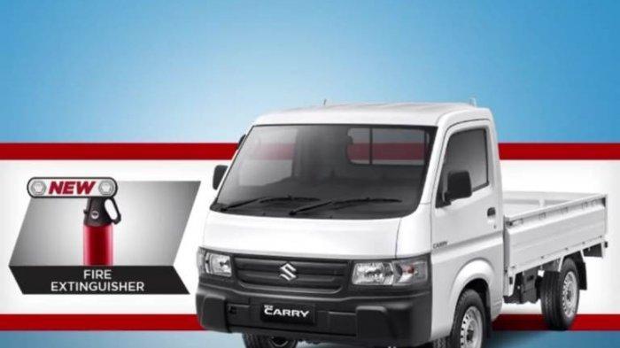 Suzuki New Carry Pick Up Lebih Segar dan Tangguh, Sudah Dilengkapi APAR