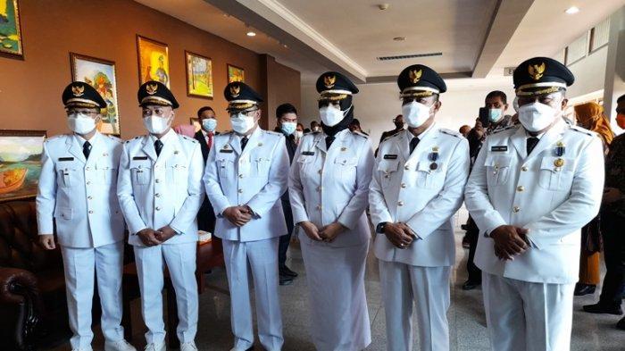Gubernur Bangka Belitung Minta Tiga Bupati Baru Dilantik Bantu Pulihkan Ekonomi di Tengah Pandemi
