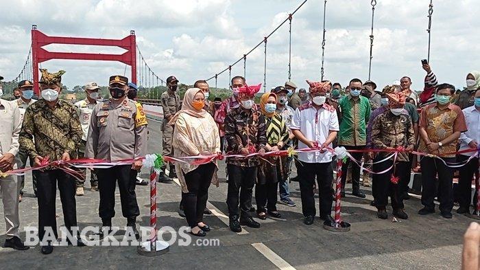Ketua DPRD Pangkalpinang Nilai Jerambah Gantung, Jembatan Persahabatan Dua Kepala Daerah