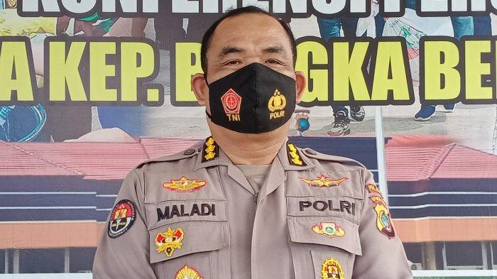 Diduga Kelayapan ke THM, Seorang Oknum Anggota Polda Bangka Belitung Diamankan Paminal