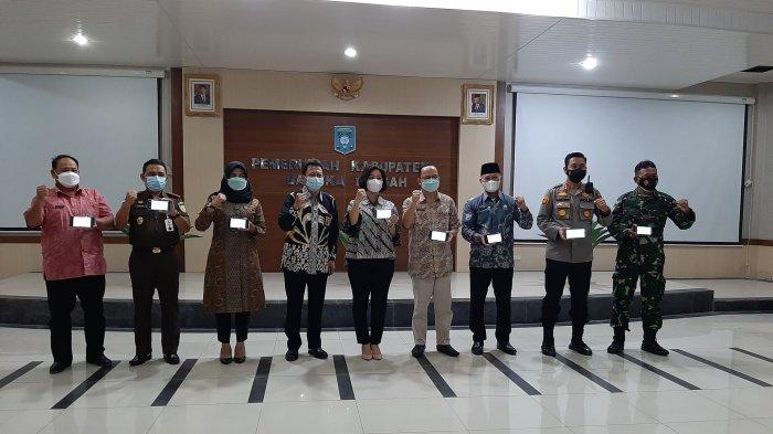 Ajak Masyarakat Taat Wajib Pajak, KPP Pratama Jalin Kerjasama Dengan Pemerintah Bangka Tengah