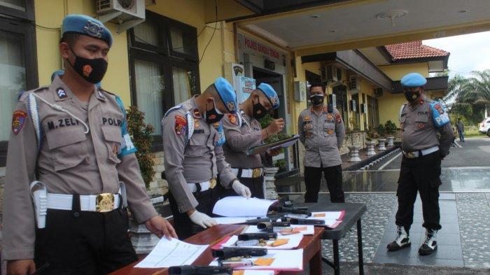233 Personel Polres Bangka Tengah Dilakukan Tes Urin, Ini Hasilnya