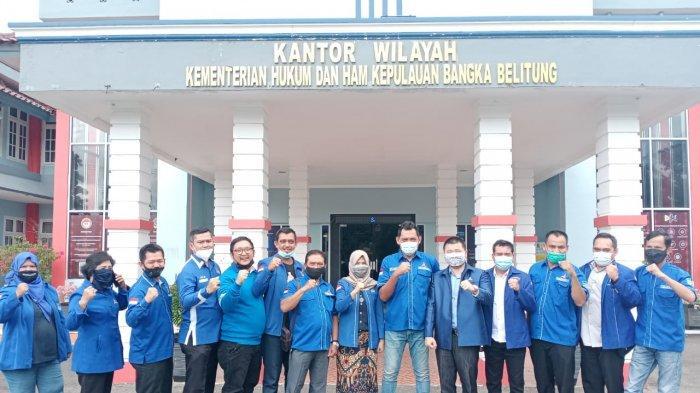 Tolak KLB Deli Serdang, Ini Isi Pernyataan sSkap DPD Demokrat Bangka Belitung ke Yasonna H Loaly