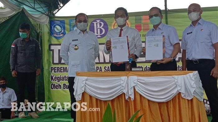 Tingkatkan Ketahanan Pangan, Bank Indonesia Lakukan Kerjasama dengan Pemkab Bangka Tengah