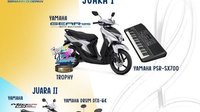 Yamaha gelar Lets GEAR Up Jingle Competition berhadiah motor dalam rangka peringati hari musik Nasional
