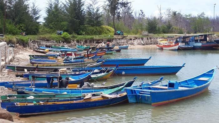 Nelayan Pantai Tanjung Gunung Tidak Terganggu Aktivitas Tambang Apung, Jaring Ikan Tengah Laut