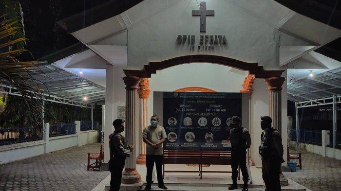 Satuan Sabhara Polres Bangka Selatan Lakukan Patroli ke Gereja di Toboali - 20210329-patrol1.jpg