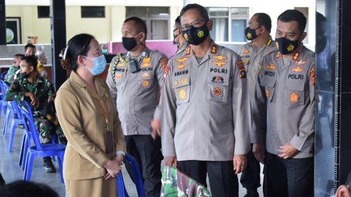 Kapolda Bangka Belitung Tinjau Vaksin Covid 19 di Polres Bangka