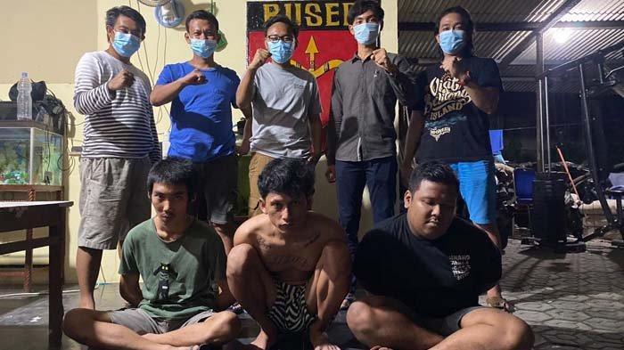 Tiga Pelaku Penganiayaan Dibekuk Buser Polres Bangka