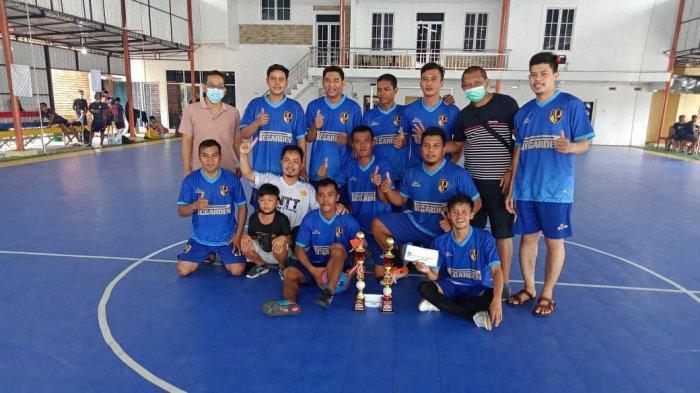 RSJ Bangka Belitung Raih Juara Futsal Farmasi Cup