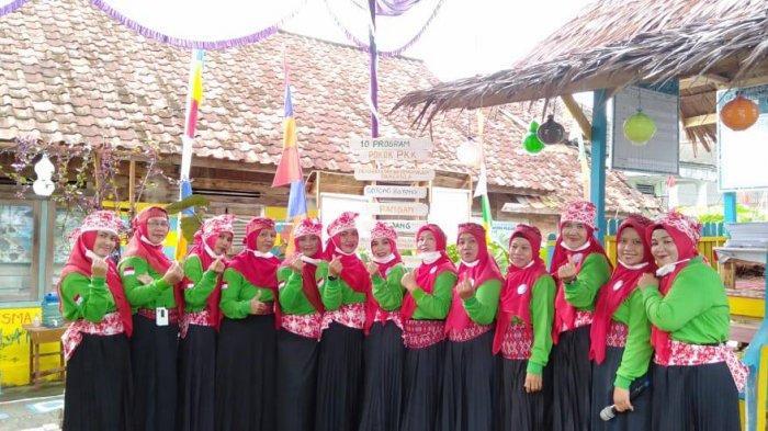 Wakili Kota Pangkalpinang Kelurahan Semabung Baru Ikuti Lomba Dasawisma Tingkat Provinsi