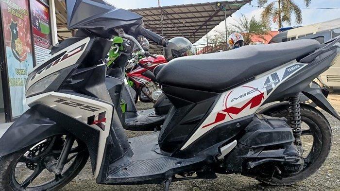 ABG Nekat Curi Motor Polisi, Diringkus Saat Sedang Kendarai Motor Curiannya - 20210407-abg-maling-motor.jpg
