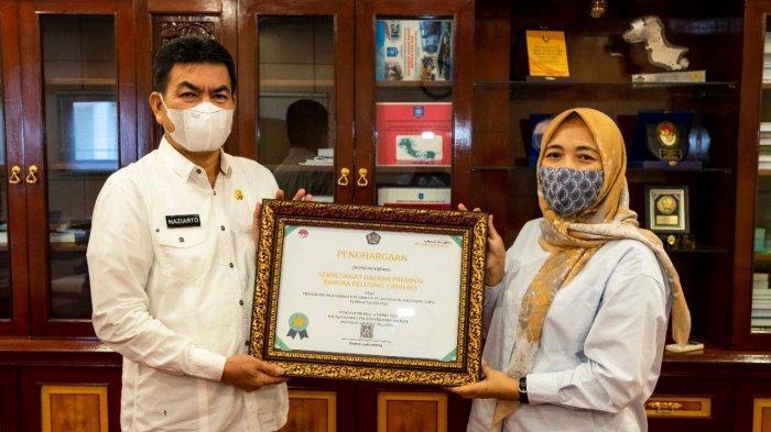 Kanwil DJPb Beri Penghargaan Kinerja Terbaik Pada Sekda Provinsi Bangka Belitung