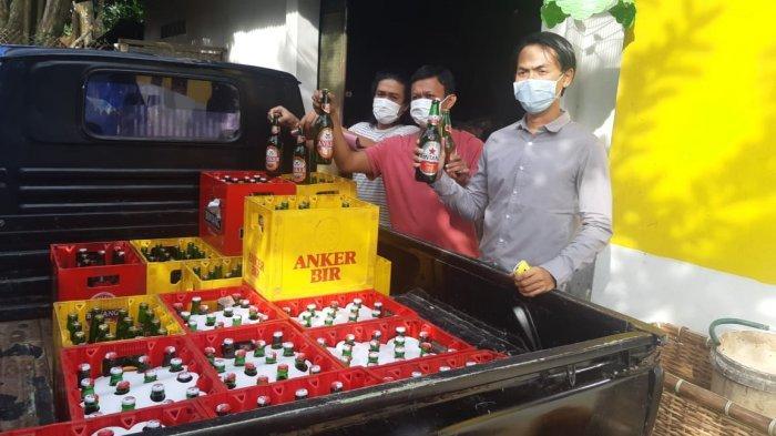 Janda Penyuplai Bir ke SG Dibekuk Tim Buser Polres Bangka