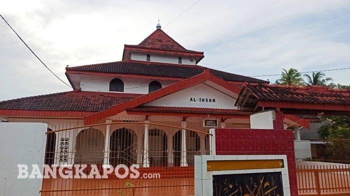 Masjid Al Ihsan Masjid Tertua di Toboali, Miliki Kubah Seperti Masjid Agung Demak dan Banten