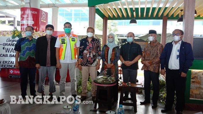 Grand Opening Outlet ke-9 Warjo di Bandara Depati Amir, Targetkan Punya 100 Outlet