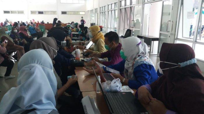 1.200 Guru di Kabupaten Bangka Disuntik Vaksin Covid-19