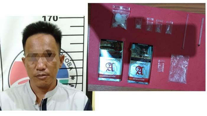 Satres Narkoba Polres Bangka Selatan Ringkus Serindit, Miliki Sabu 6,28 Gram
