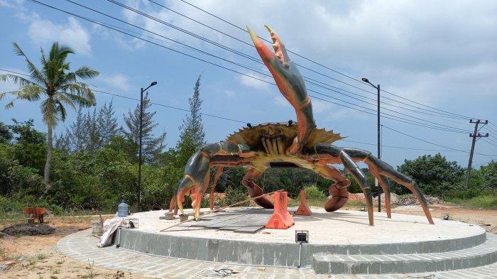 Tugu Ketam Remangok Si Raksasa Icon Baru Kota Pangkalpinang di Perbatasan