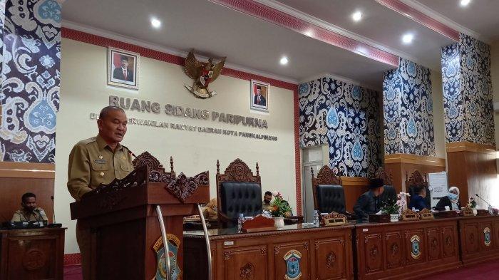 Tanggapan Wali Kota Atas Pandangan Fraksi Umum Terhadap Tiga Raperda yang Diusulkan