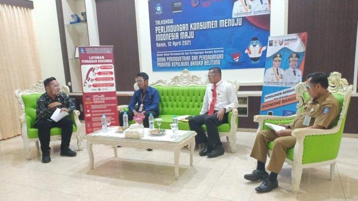 Disperindag Bangka Belitung Gelar Talksow Perlindungan Konsumen, Begini Tujuannya