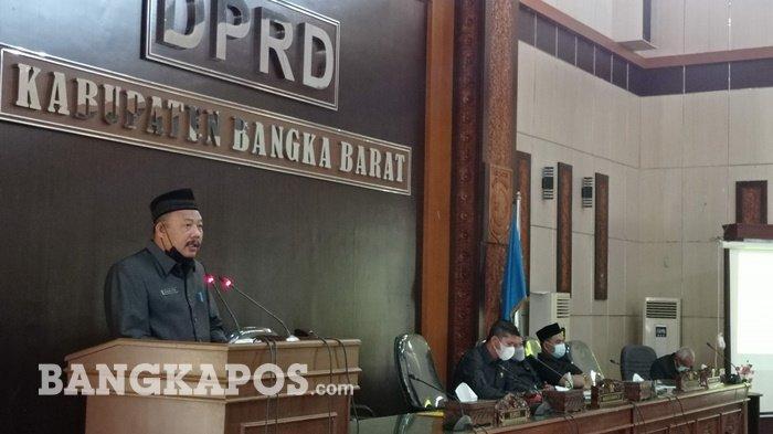 Rapat Paripurna DPRD Bangka Barat, Usulkan Empat Raperda Termasuk Kabupaten Layak Anak