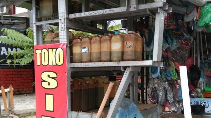 Dibanderol Rp 8.000 Per Liter,Pengecer Pertalite di Pangkalpinang Keluhkan Harga BBM Dijual Pengerit