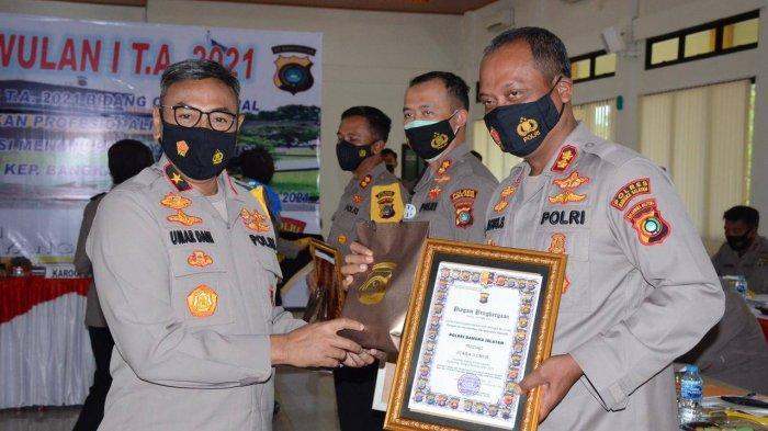 Terima Penghargaan dari Polda Bangka Belitung, Kapolres Bangka Selatan: Ini Adalah Prestasi Personel